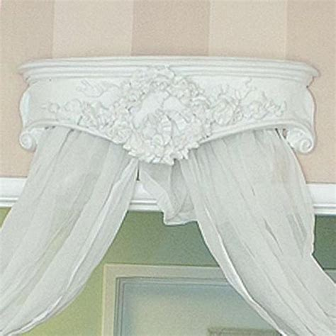 Crown Bed Canopy Ornate Corona Bed Crown Canopy 278 00 Thebellacottage Bedroom Shabbychic Shabby Chic