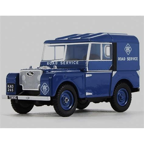 land rover series 1 hardtop oxford diecast 1 43 lan180006 rac land rover series 1 80