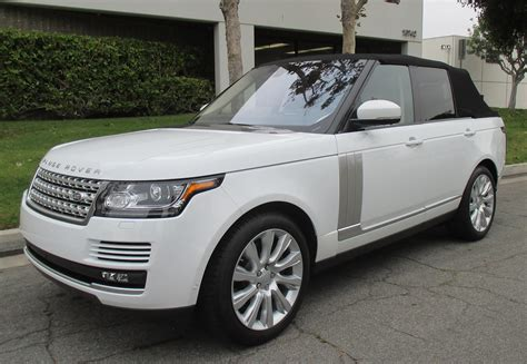 land rover convertible range rover convertible
