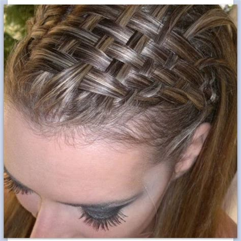 updos using basket weave technique basket weave hair hairstyles pinterest baskets