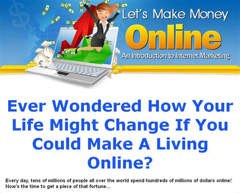Make Money Online Plr Ebook - let s make money online plr ebook