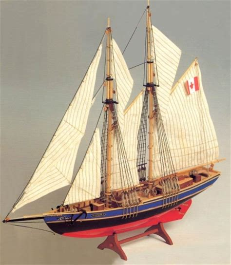 sailboat model kit bluenose ii sailboat model kit blue nose 2 kit wooden
