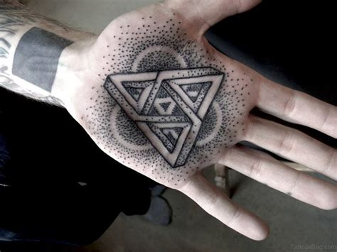 geometric triangle tattoo 62 outstanding geometric tattoos on