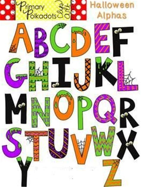 free printable halloween alphabet letters pinterest the world s catalog of ideas