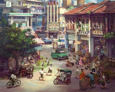 town  anime background wallpapers  desktop