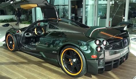 pagani suv new pagani huayra bc delivered and we re green with envy
