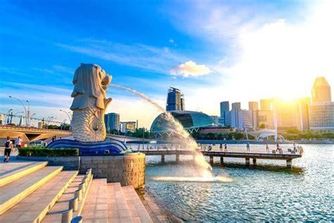 merlion park  discover  true colours   city