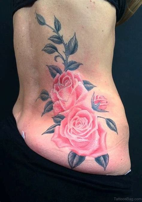 cute rose tattoo 91 fabulous flowers tattoos on lower back