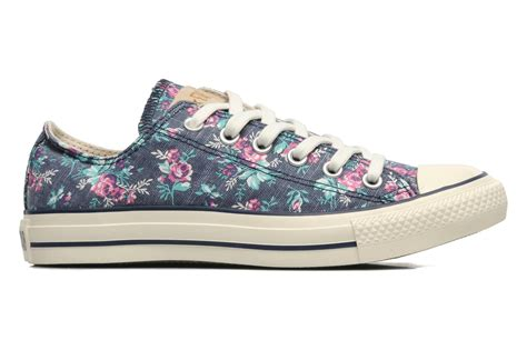 Converse All Ox Flower Motif converse chuck all floral print ox w trainers in multicolor at sarenza co uk 130204