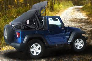 aftermarket firms develop power operated soft top for jeep