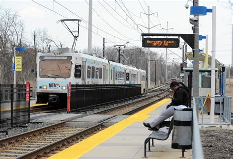Md Light Rail by Light Rail Service In Downtown Baltimore To Halt This