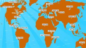 world lakes on map important lakes on earth facts about lakes pmf ias
