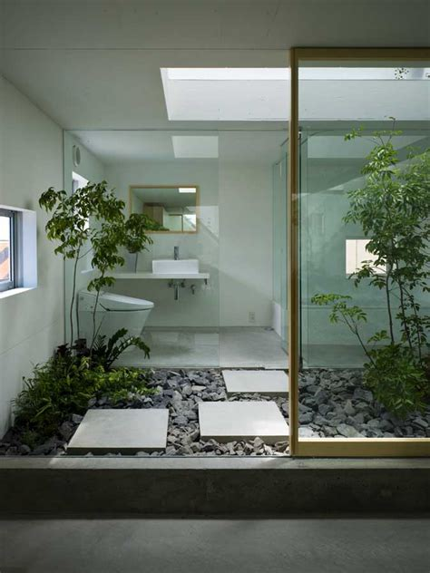 Garden Bathroom Ideas House In Moriyama Nagoya Residence Japan E Architect