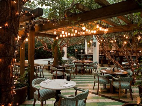 Restaurant Patio Design Soho House Tropical Patio Miami By Raymond Jungles Inc