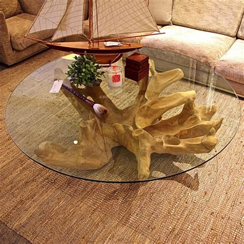 tree trunk glass coffee table wood stump side table tree stump coffee table tree