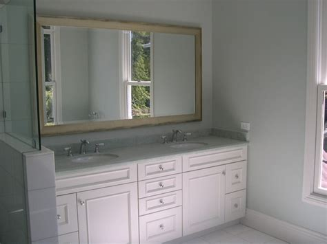 White Bathroom Cabinet White Bathroom Cabinets Traditional Bathroom San Francisco By Marin Kitchen Co