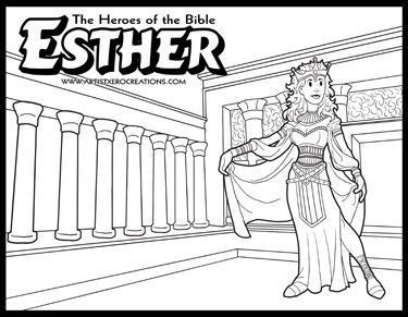 coloring pages of bible heroes the heroes of the bible coloring pages esther supplies