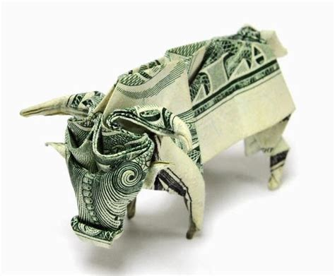 Single Dollar Bill Origami - dollar origami by won park and design