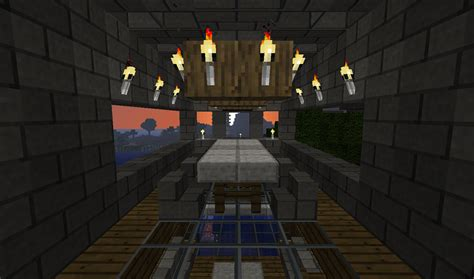 Minecraft Dining Room by Minecraft Dining Area By Th3 Rav3n On Deviantart
