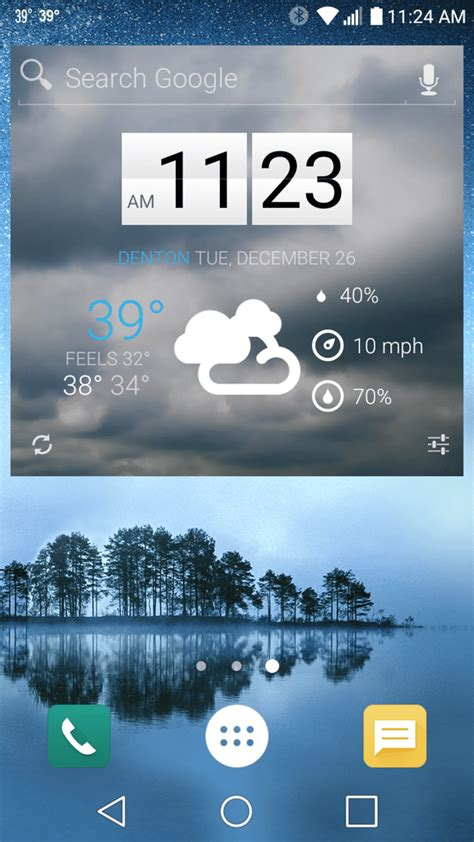 best free android weather widget the 15 best free widgets for android