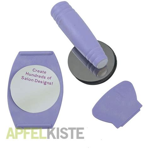 Nagel Stempel Set by Doppelseitiges Express Nagel Stempel Set