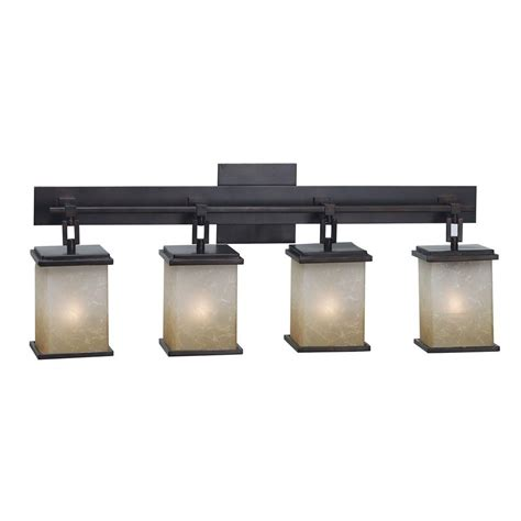 4 light vanity light bronze kenroy home plateau 4 light rubbed bronze vanity light