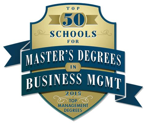 Best Mba Mha Programs by Best Masters Of Business Administration Programs
