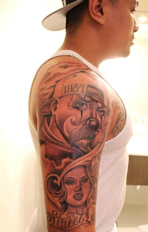 cartoon gangsta tattoo gangsta tattoo quotes quotesgram