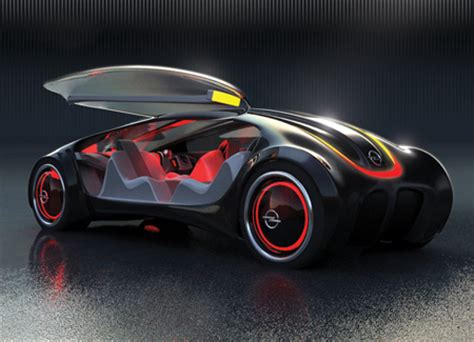 future transportation opel siderium car concept with