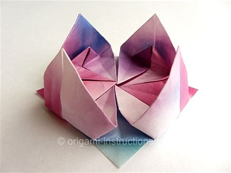 Traditional Origami Paper - origami traditional lotus folding origami