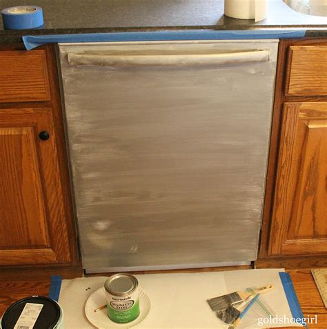 how to paint kitchen appliances how to use stainless steel appliance paint