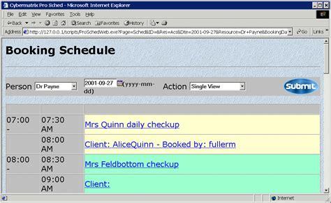 Web Based Outliner Software by Web Based Scheduling Software Web Based Scheduling Software