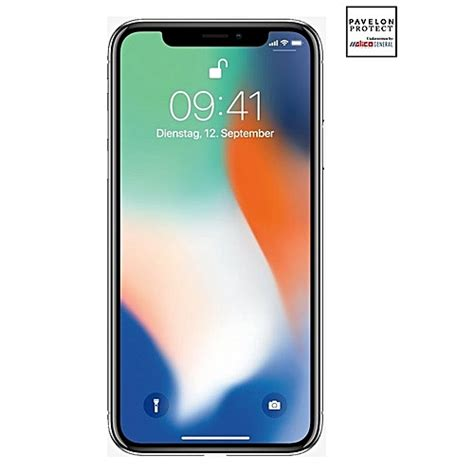 apple iphone x 256gb hdd 3gb ram silver with 1 year pavelon protection plan jumia
