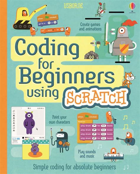 libro the usborne introduction to coding for beginners using scratch at usborne children s books