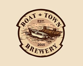 tow boat brands logopond logo brand identity inspiration boat town