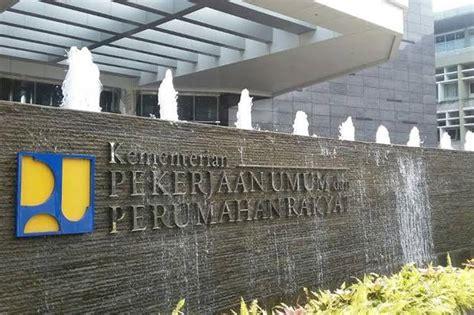 kementerian perumahan rakyat indonesia kemenpera kementerian pupr teken kontrak rp 9 3 t proyek
