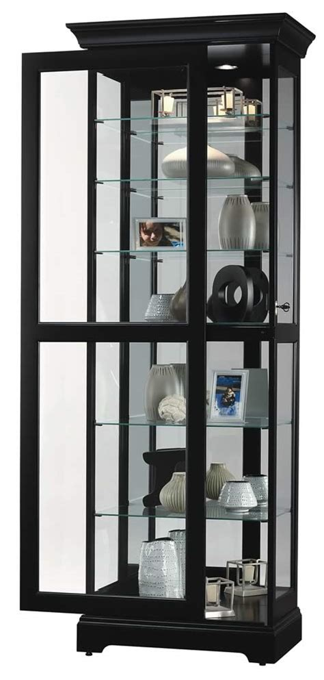 curio with sliding glass door curio cabinets contemporary curio cabinets six glass
