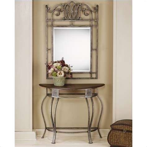 Entry Console Table With Mirror Foyer Console Table And Mirror Set Furniture Ideas Deltaangelgroup