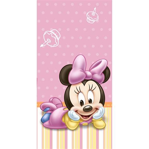 disney minnie mouse plastic toddler disney baby minnie mouse 1st birthday plastic table cover