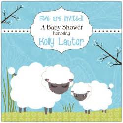 baa sheep boy baby shower invitations paperstyle