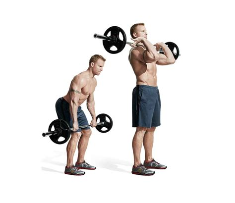 the best barbell only back workout