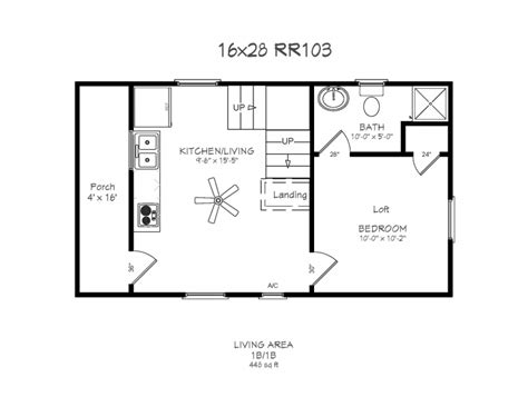 cabin layouts 16x24 cabin floor plans windows 4 x 14 porch 190 bath w d hookups maker hookup