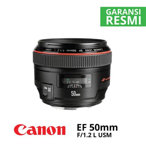 Lensa Canon Ef 50mm F 1 2 L Usm canon ef 50mm f 1 2 l usm harga dan spesifikasi
