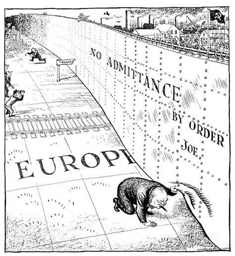 when did the iron curtain collapse apus a pw foreign political cartoons
