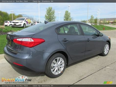 Kia Forte 2014 Black 2014 Kia Forte Lx Steel Blue Black Photo 3 Dealerrevs