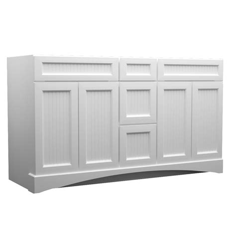shop kraftmaid white bathroom vanity common 60 in x 21