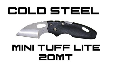 cold steel tuff lite review cold steel mini tuff lite review knifehog