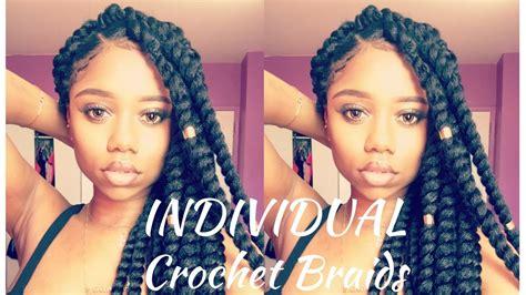 box braids vs individuals individual crochet braids senegalese twist