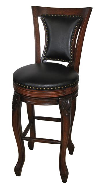 Palazzo 34 Inch Bar Stool Brown by 32 Inch Bar Stools Home Decor