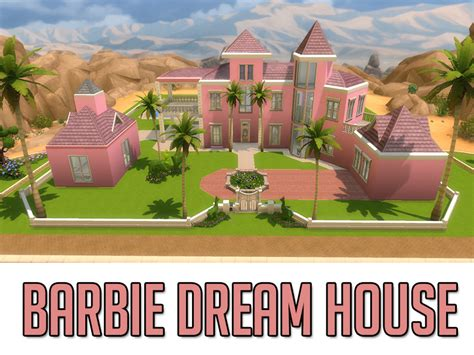 my dreamhouse the sims 4 house building w apandatam s barbie dream house
